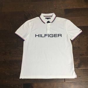 Men's Tommy Hilfiger Custom Fit Polo, Sz L EUC